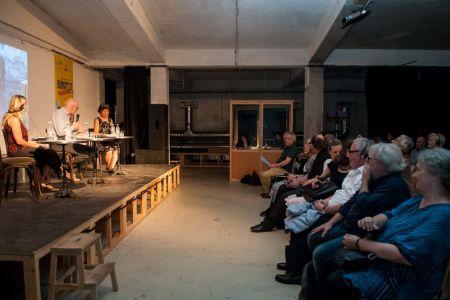 Anthologiepräsentation, Budapest, 31. August 2018