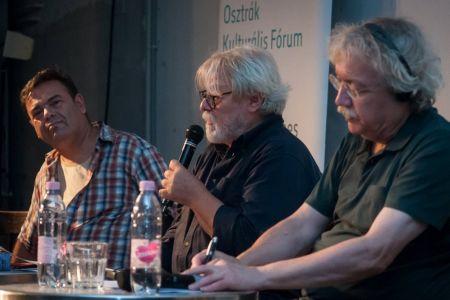 Lesung Karl-Markus Gauß, Budapest, 31.August 2018